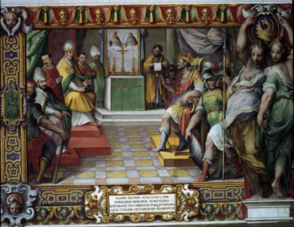 POPE JOHN XII PRESIDES