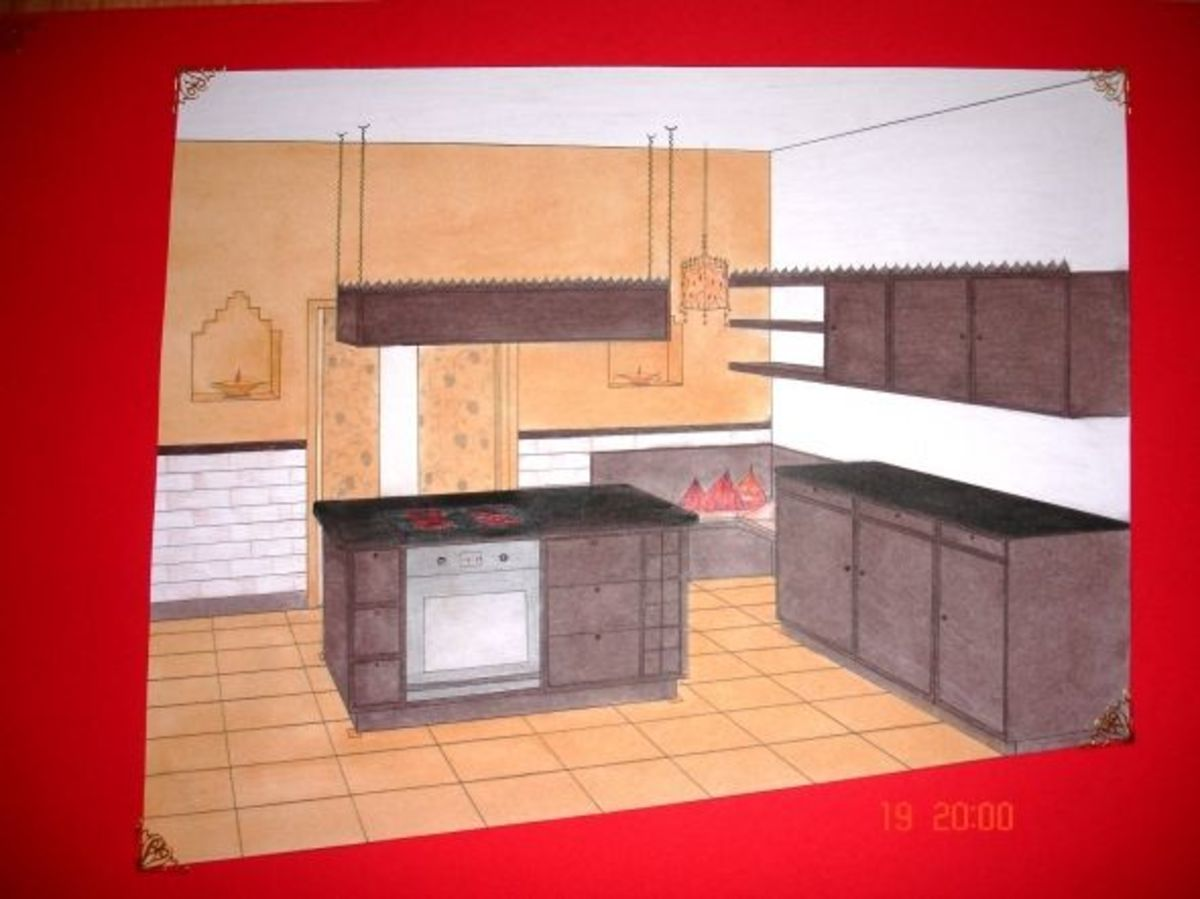 Kitchen design.