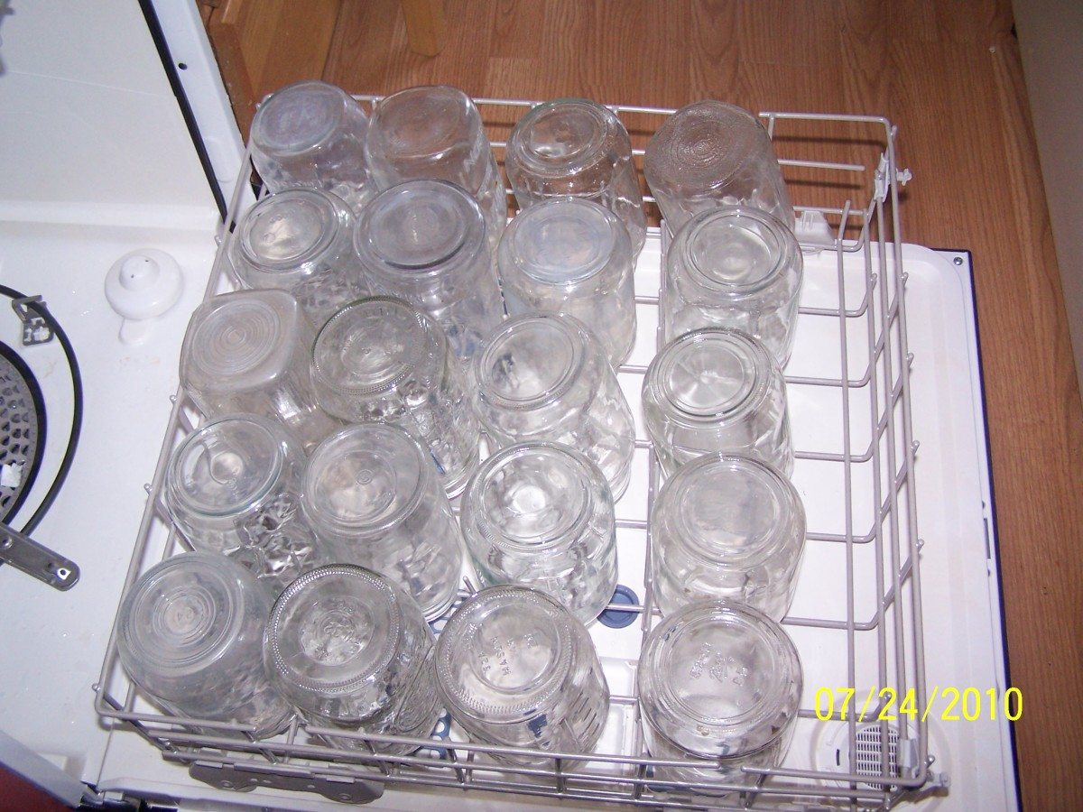To make sure your jars are clean you can run them through a dsihwasher cycle. Many of our jars have been used multiple times.