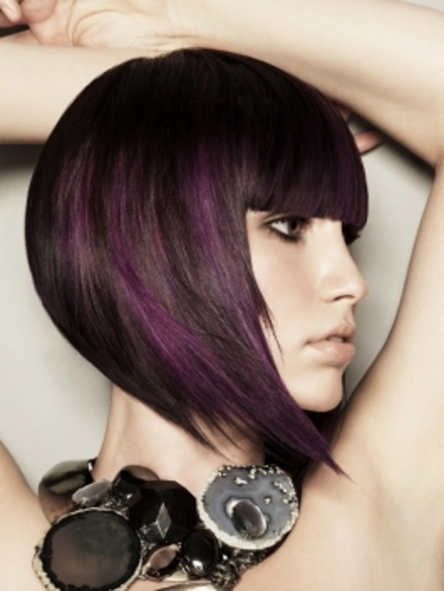 Inverted bob haircuts with Bangs for 2015