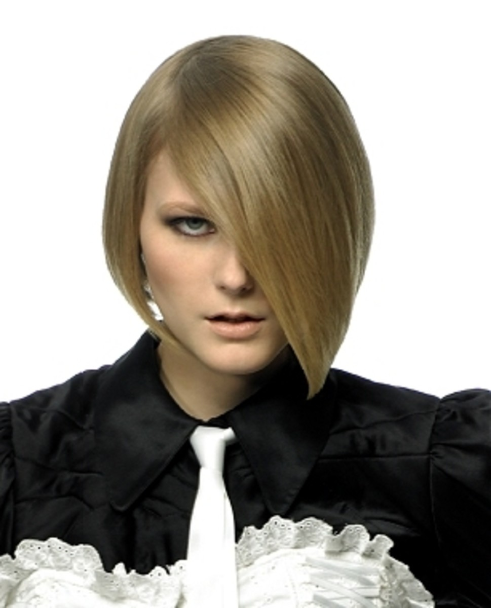 short inverted bob hairstyle pics