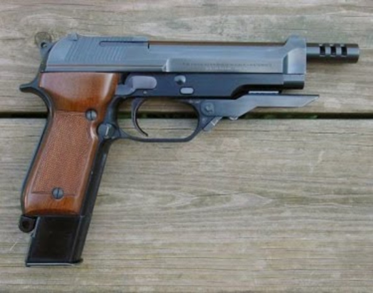 Beretta 93R, one of the few fully automatic pistols in the world