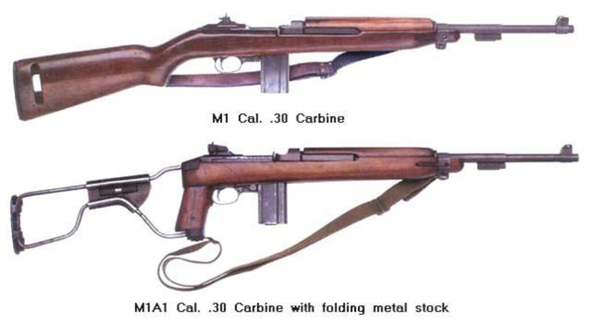 M1 Carbine, a shorter, more compact weapon