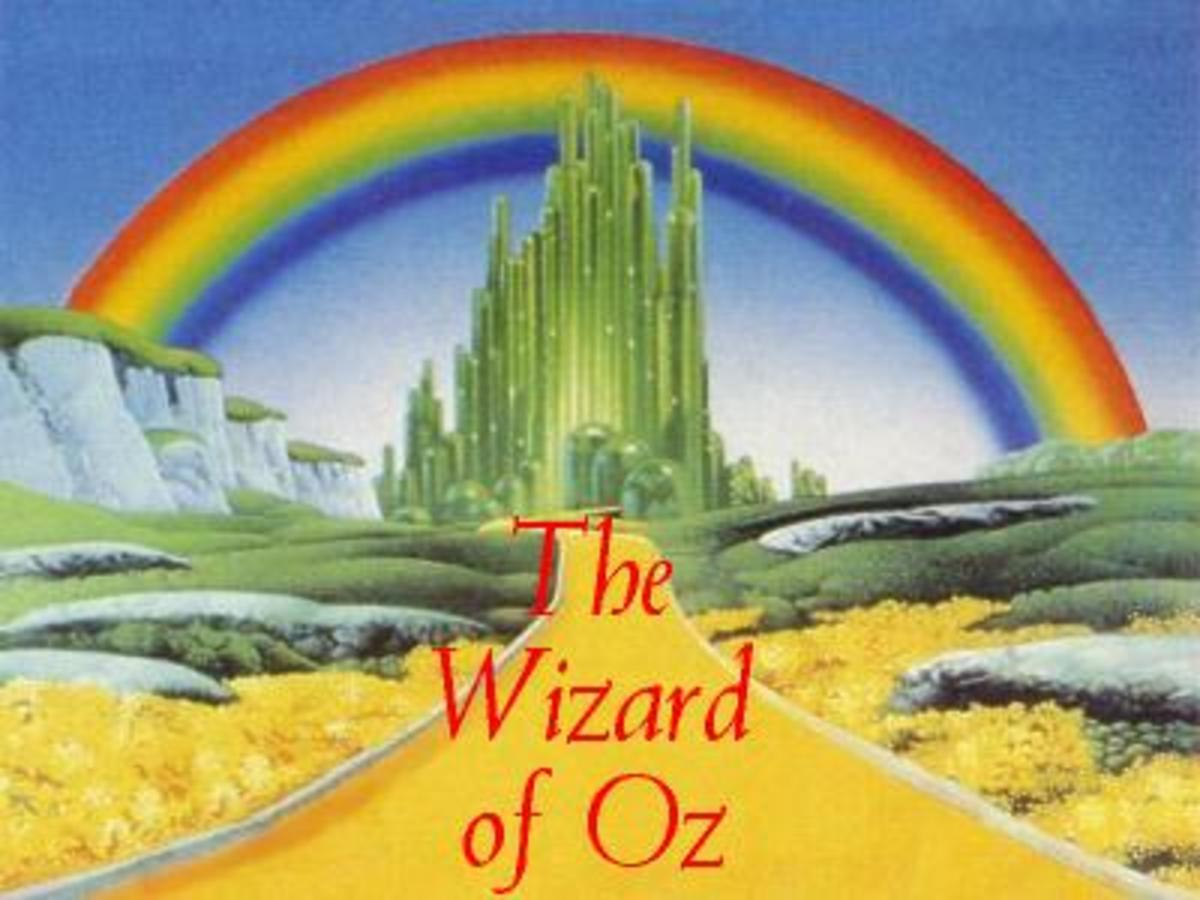 Wizard-of-Oz Kids Colouring Pictures to Print-and-Colour Online