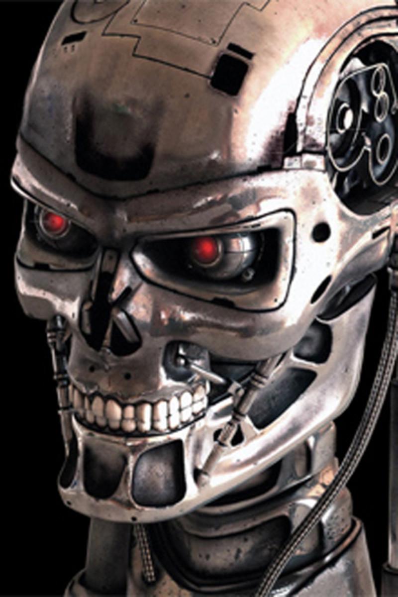 Terminator skull for reference