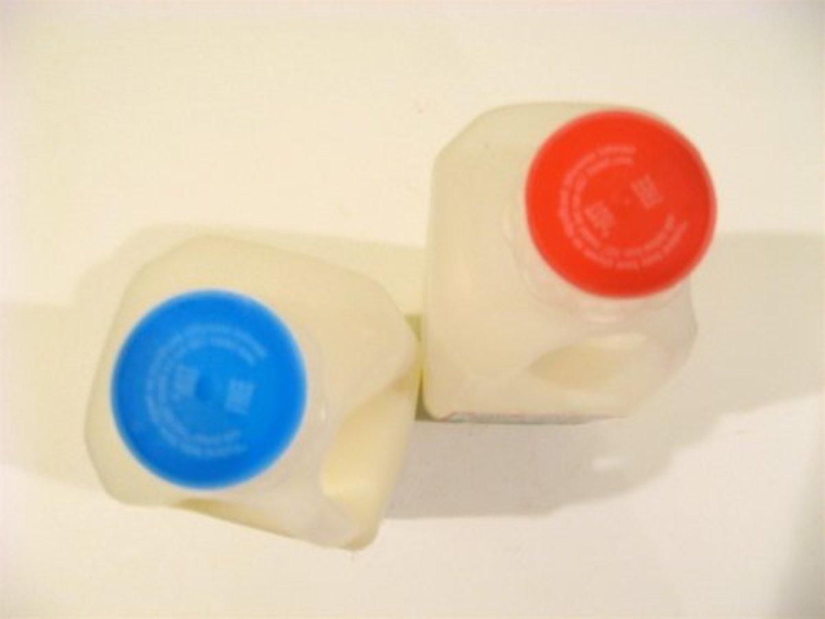 Milk cartons / Photo by E. A. Wright