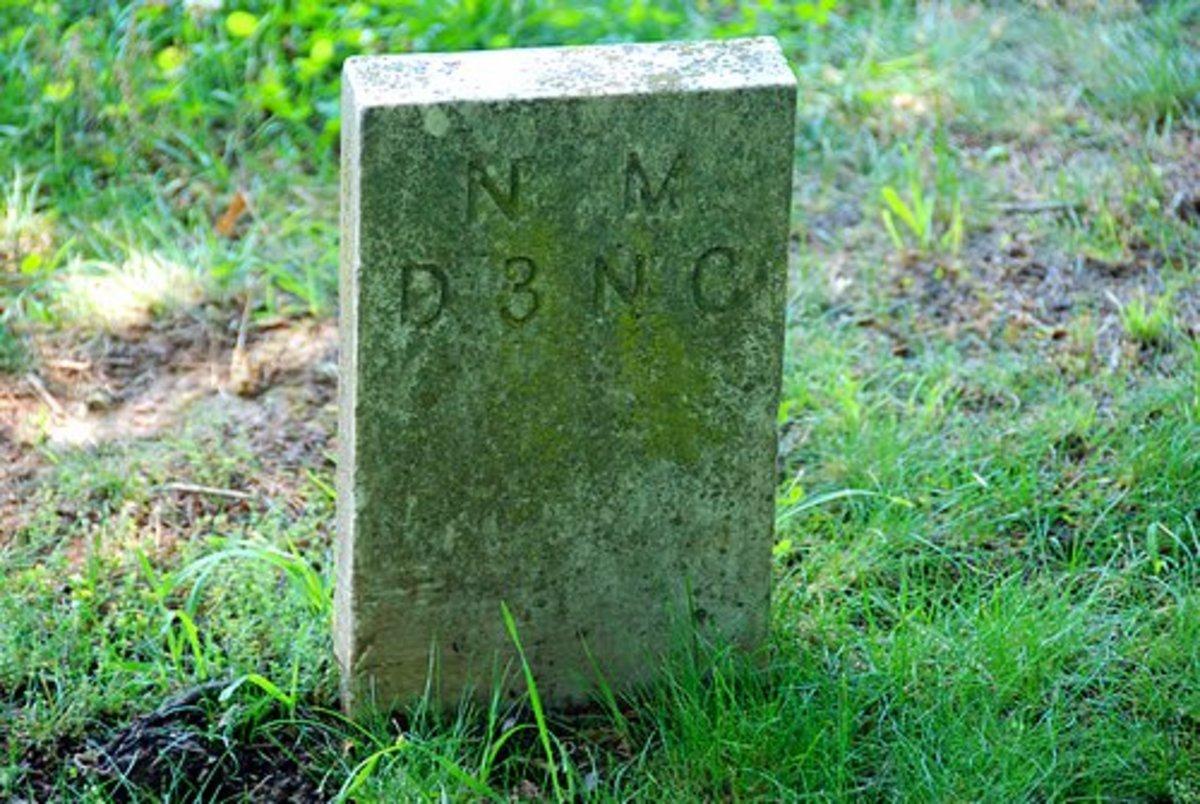 Confederate Grave Marker