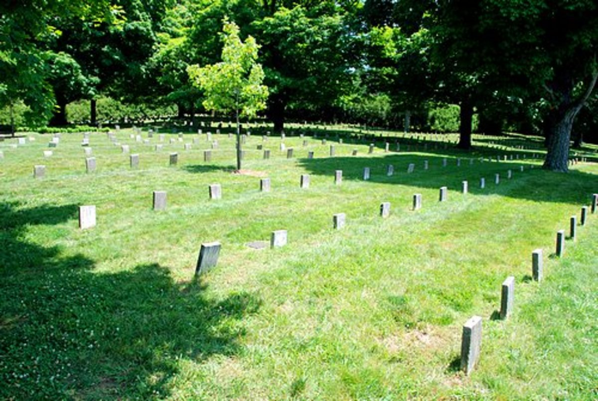 View of Confederate Graves