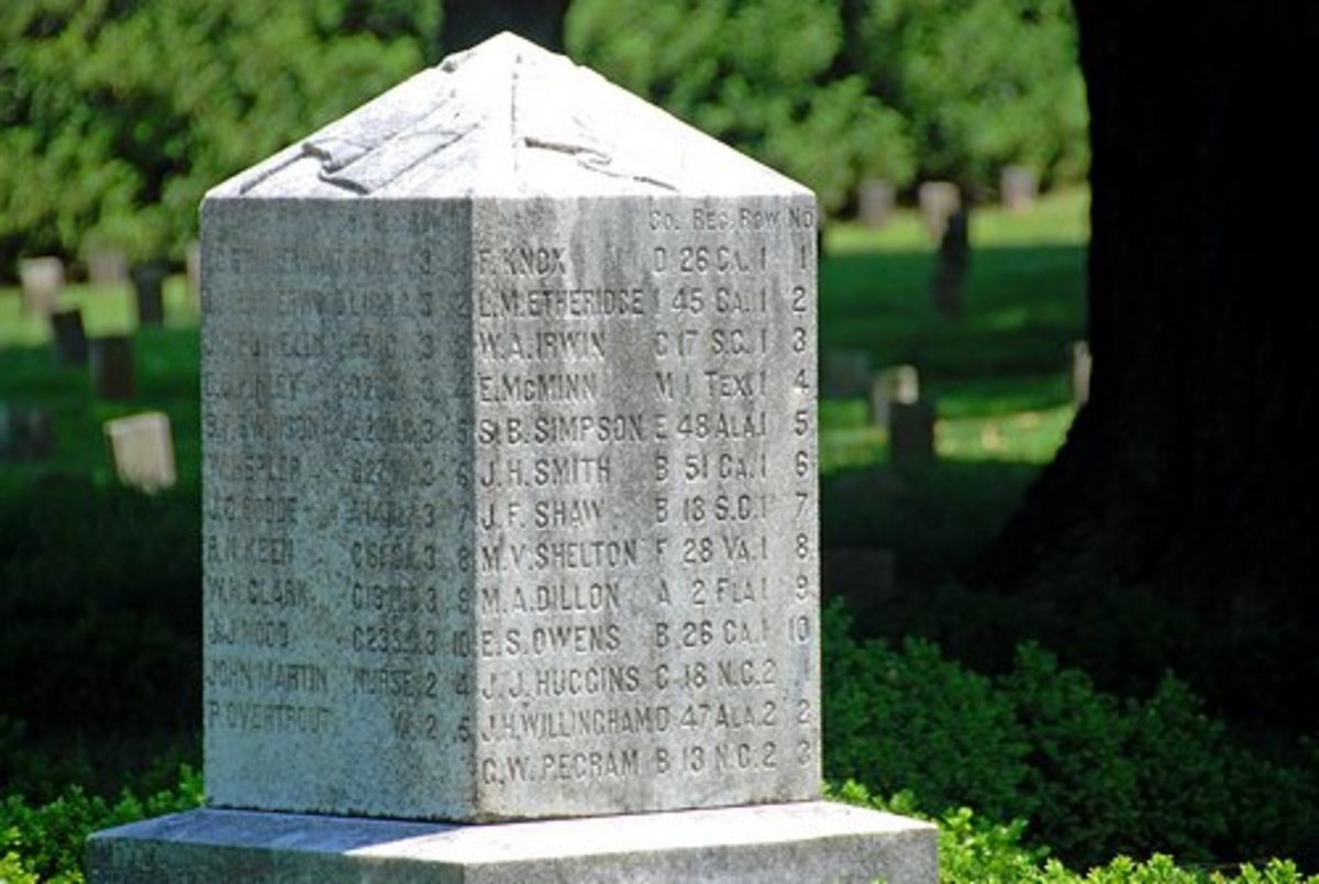 Obelisk of names and locations