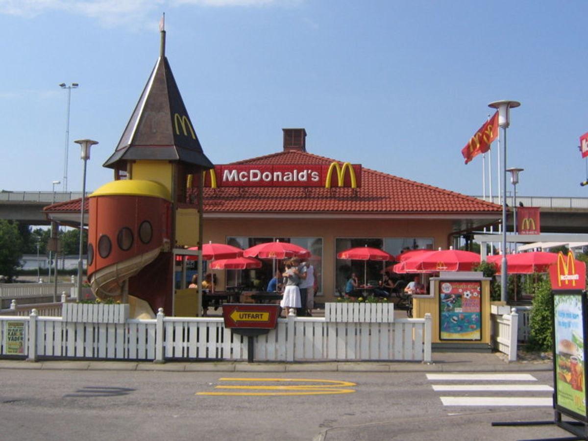 McDonalds in Karlshamn Sweden