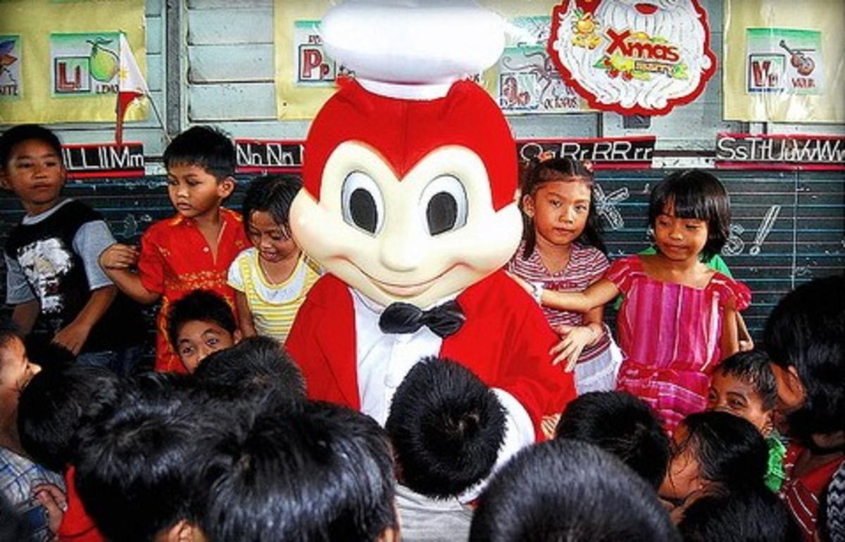 Jollibee with kids