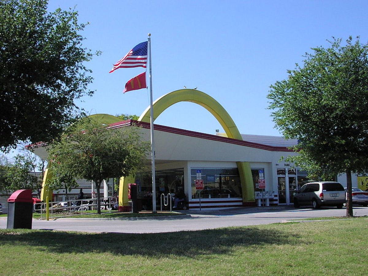 McDonalds in Seminole Florida on Park Blvd