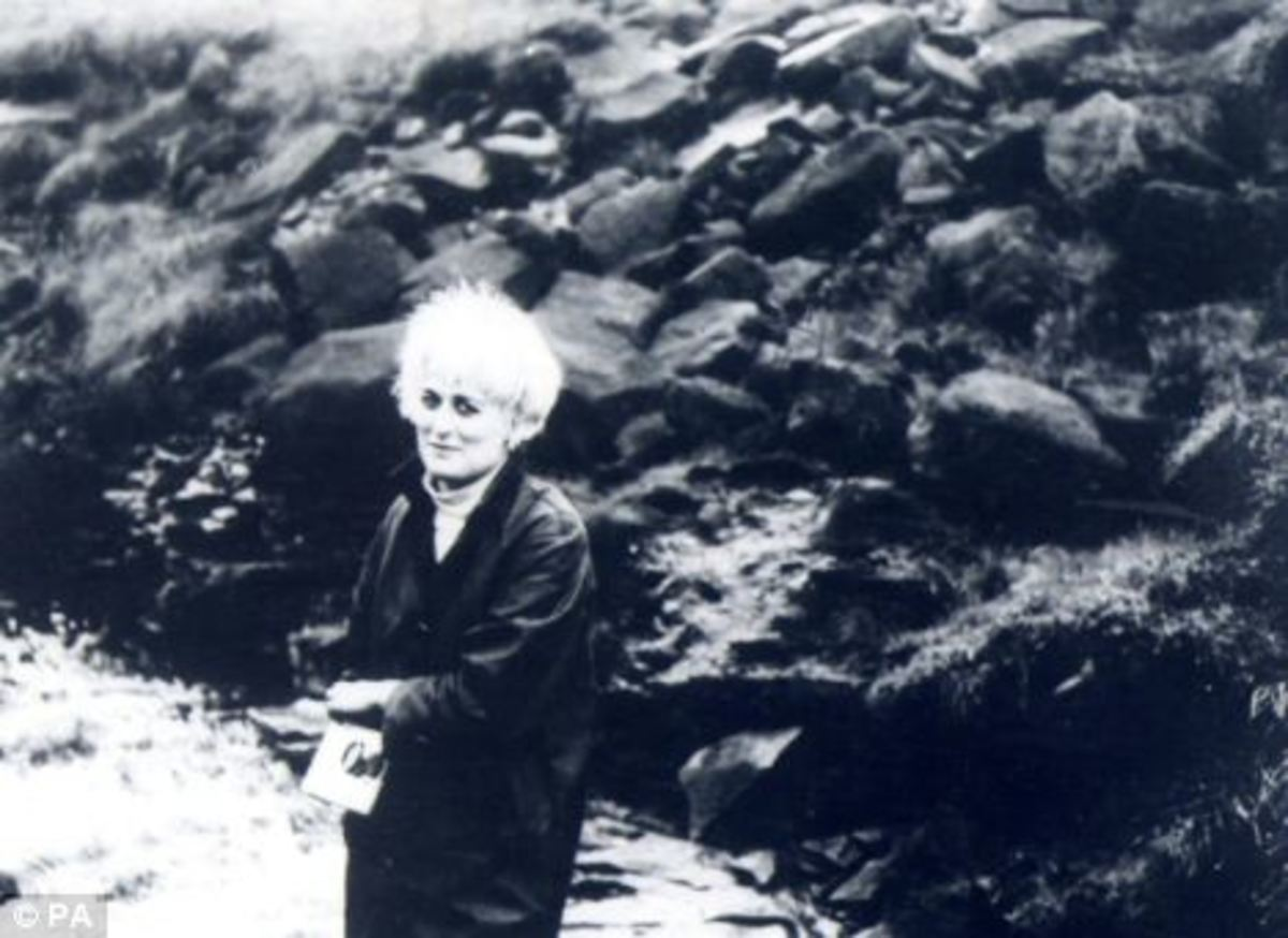 Myra Hindley on the moor