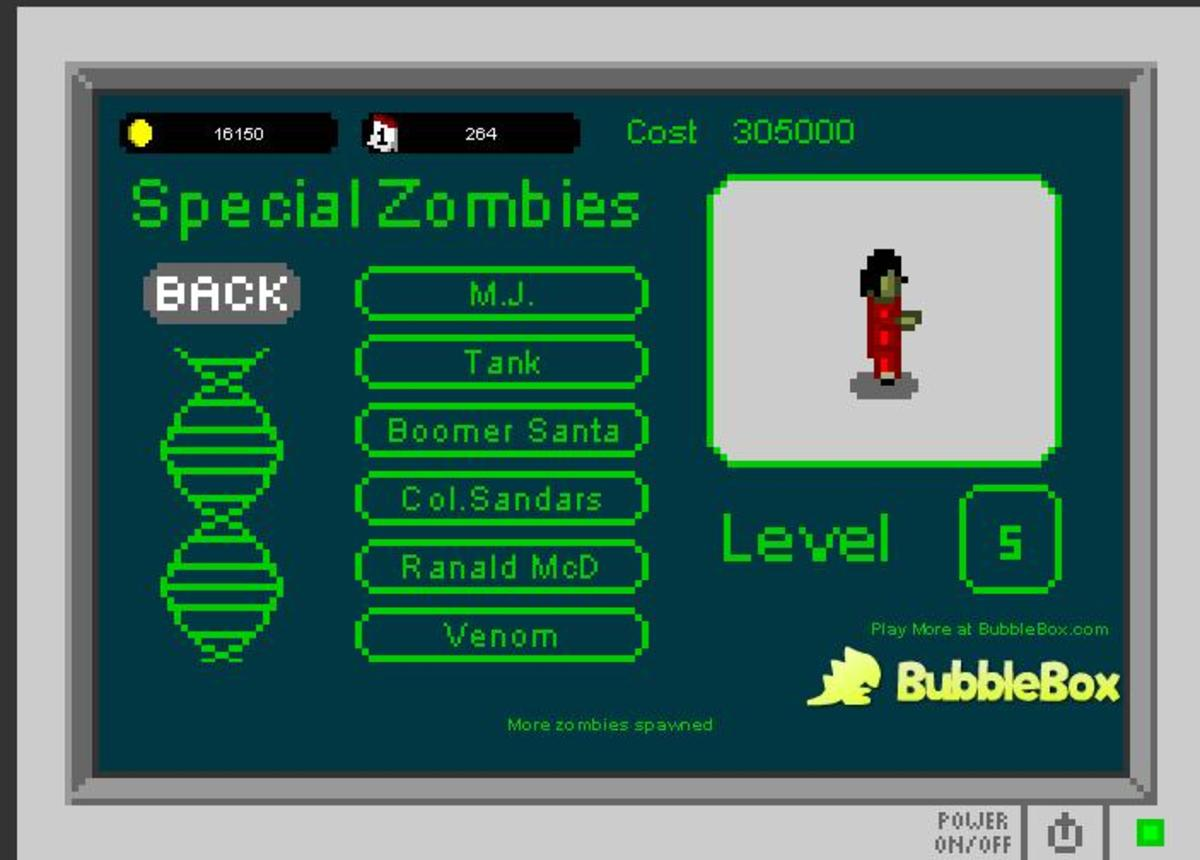 Infectonator Tips, Tricks, Strategy and Walk Through: Find all the Special Zombies