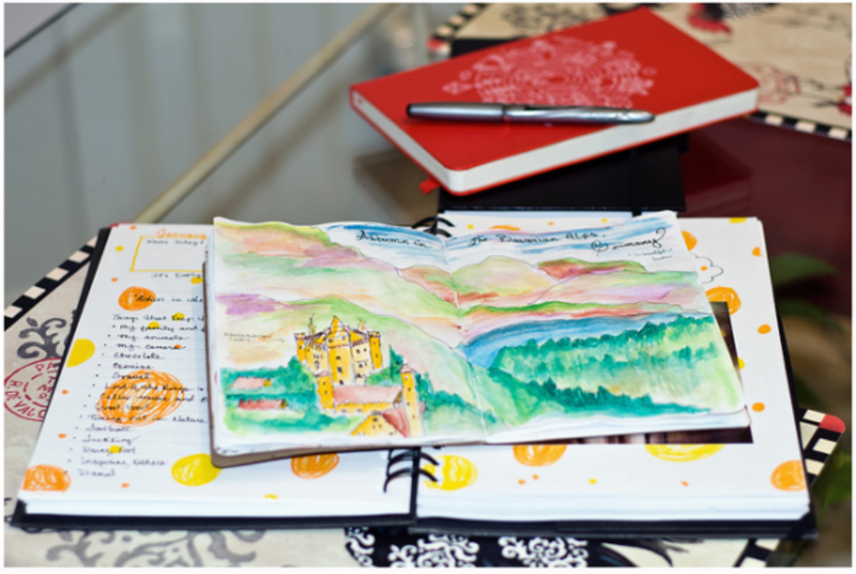 journal-moleskine-sketchbook-art-inspiration-examples-page-spreads-photos