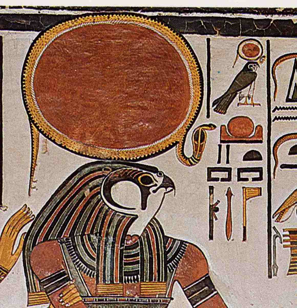 The Fight Between The Egyptian God Horus And God Seth