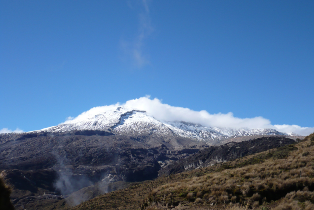 Nevado del Ruiz.