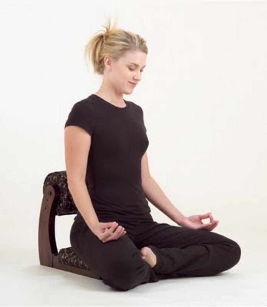 The Wandering Monk Meditation Chair from Zen By Design