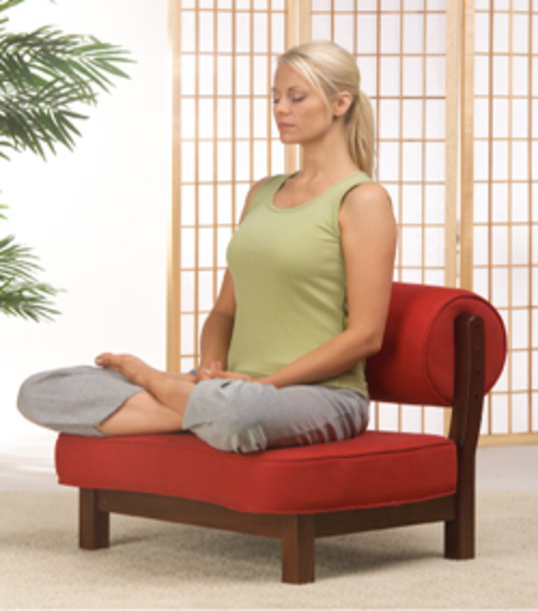 The Rama Meditation Chair from Zen By Design