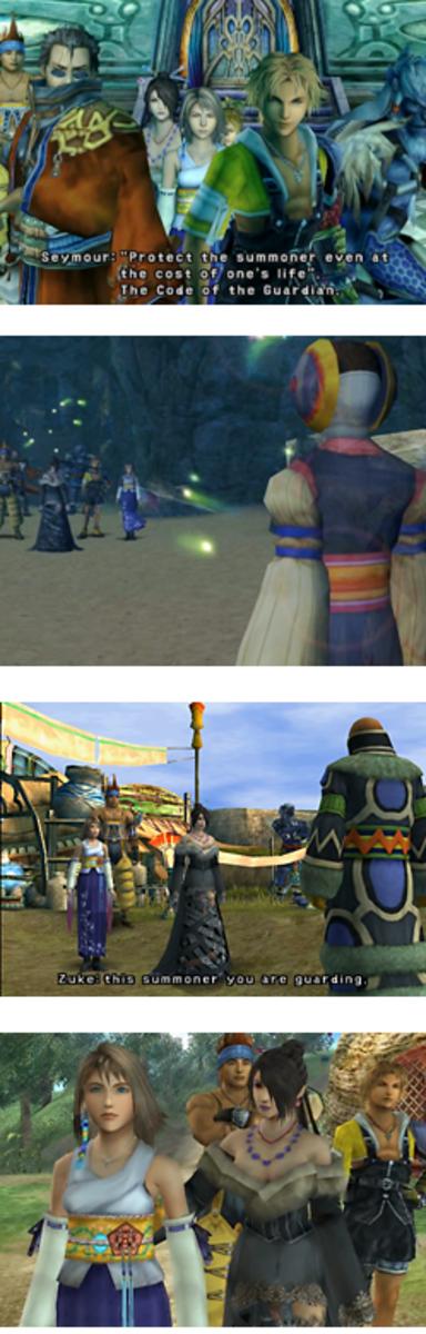 Final Fantasy X Lulu - Guardian of Yuna, Ginnem, Zuke