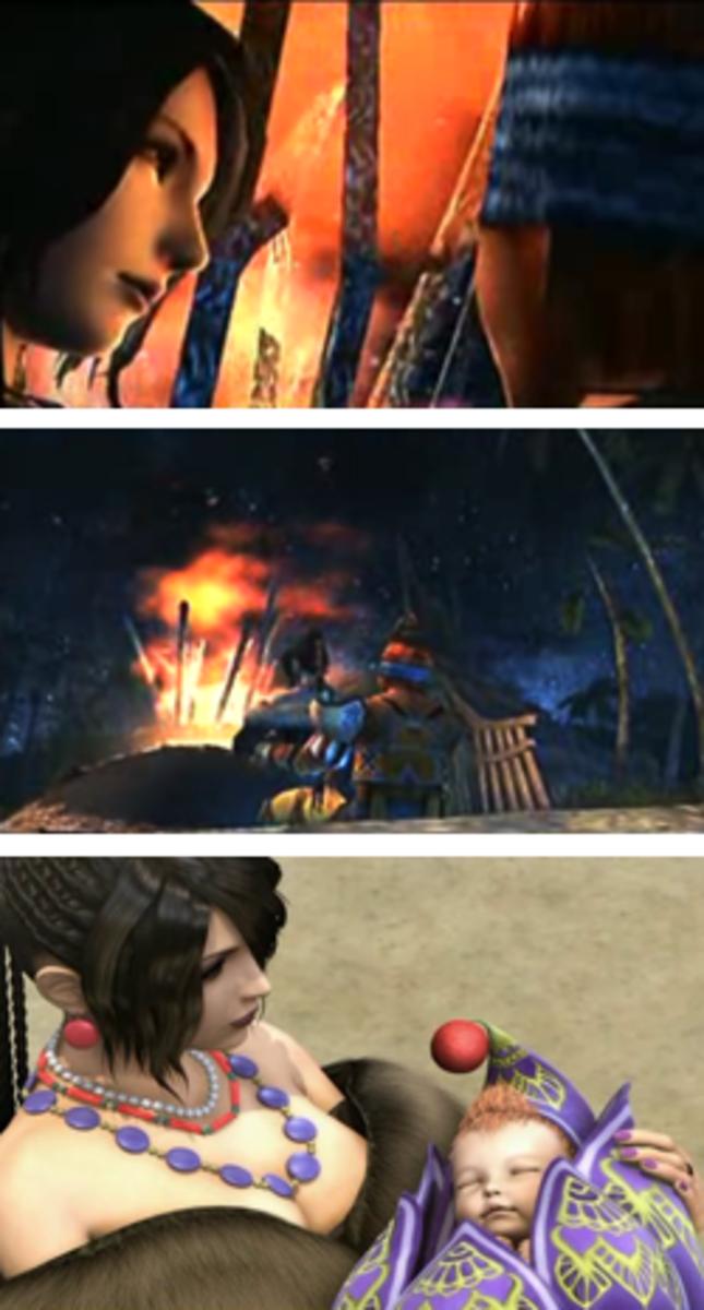 Final Fantasy X-2: Wakka, Lulu, Vidina