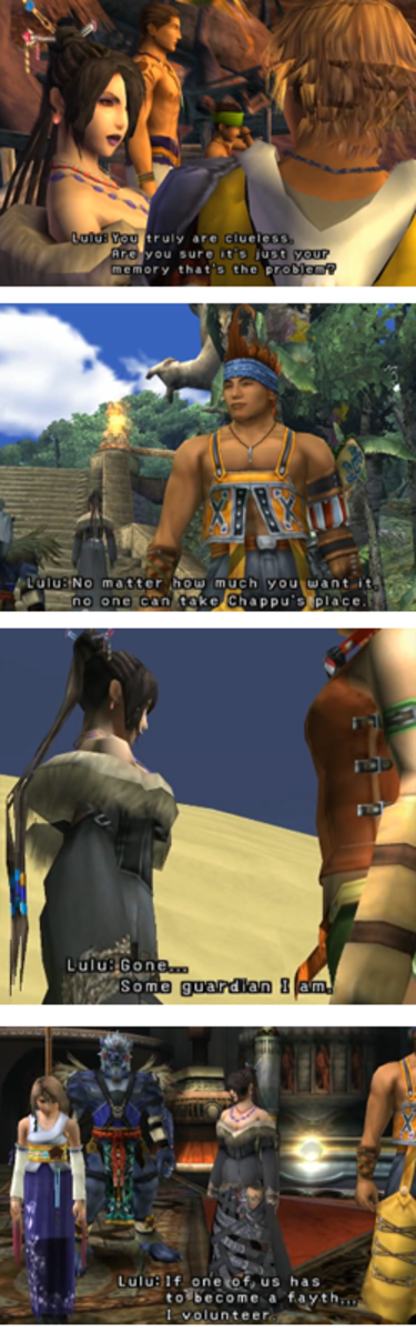 Final Fantasy X: Lulu quotes