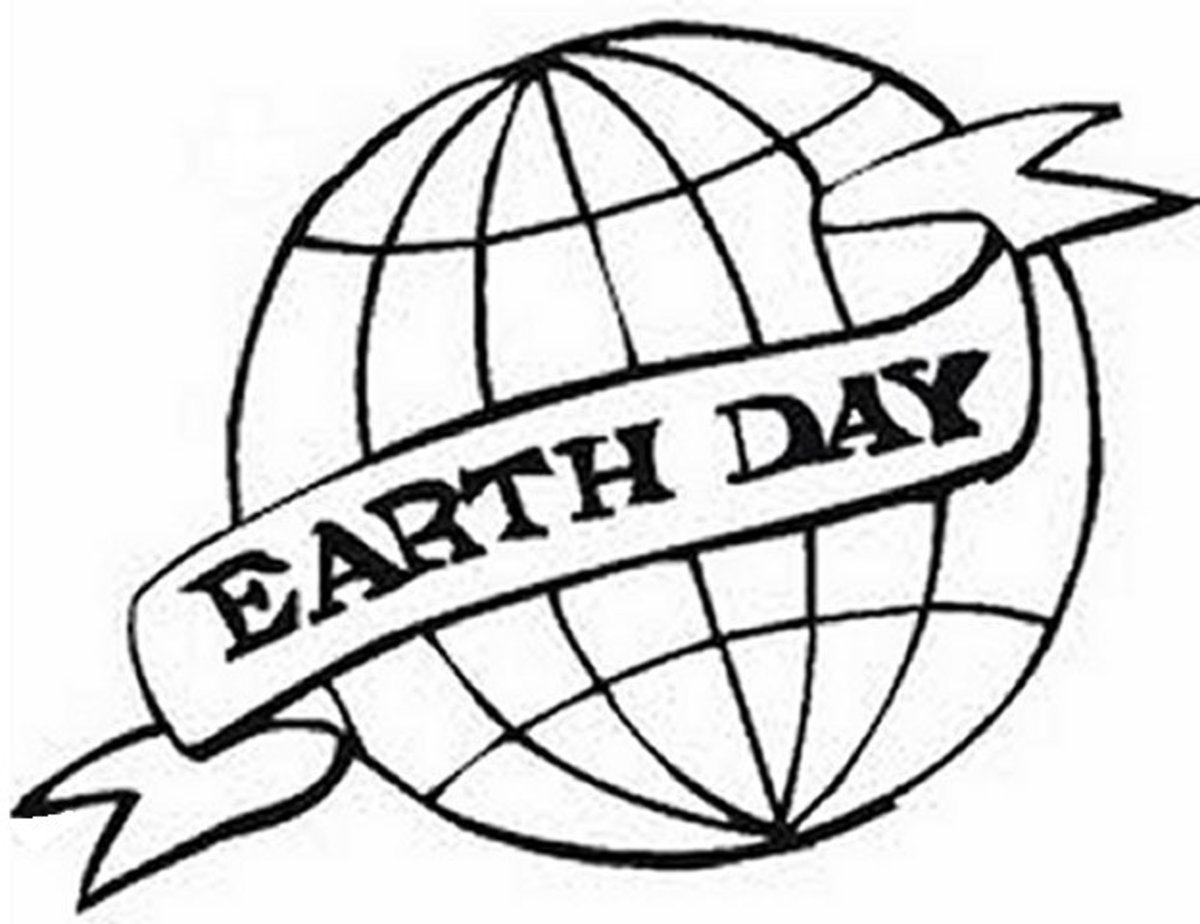 Save the Earth-Day Environmental Awareness with Earth-Day Kids Coloring Pages and Free Colouring Pictures to Print  - Earth-Day Banner