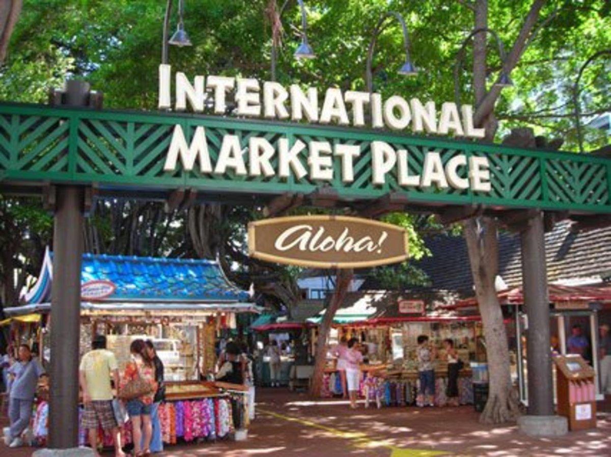 International Market Place in Waikiki