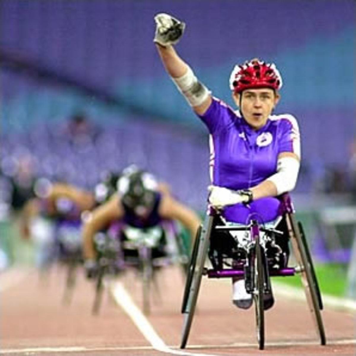 Athletic: Disabled athlete Tanni Grey Thompson