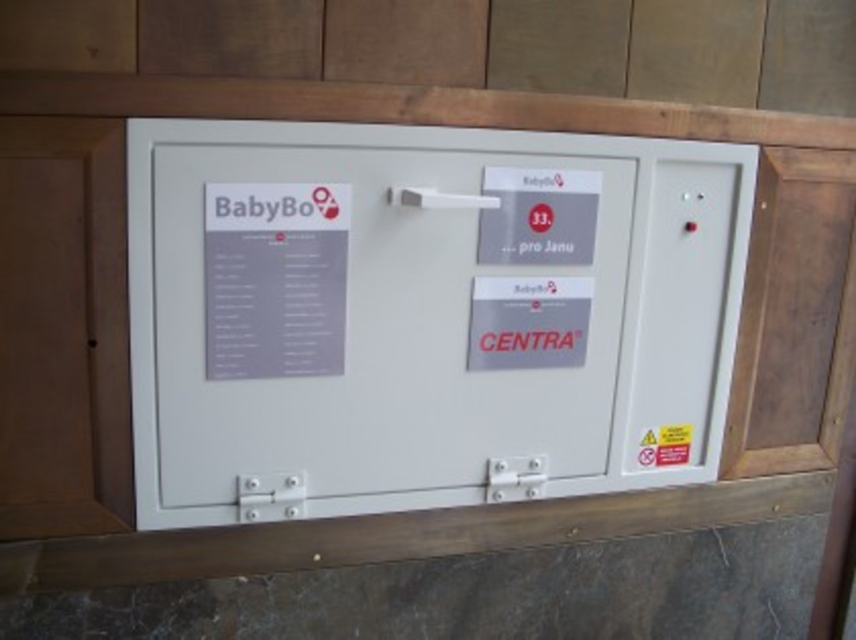 a baby box in Europe