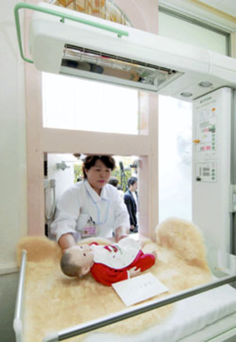 a baby hatch in Japan