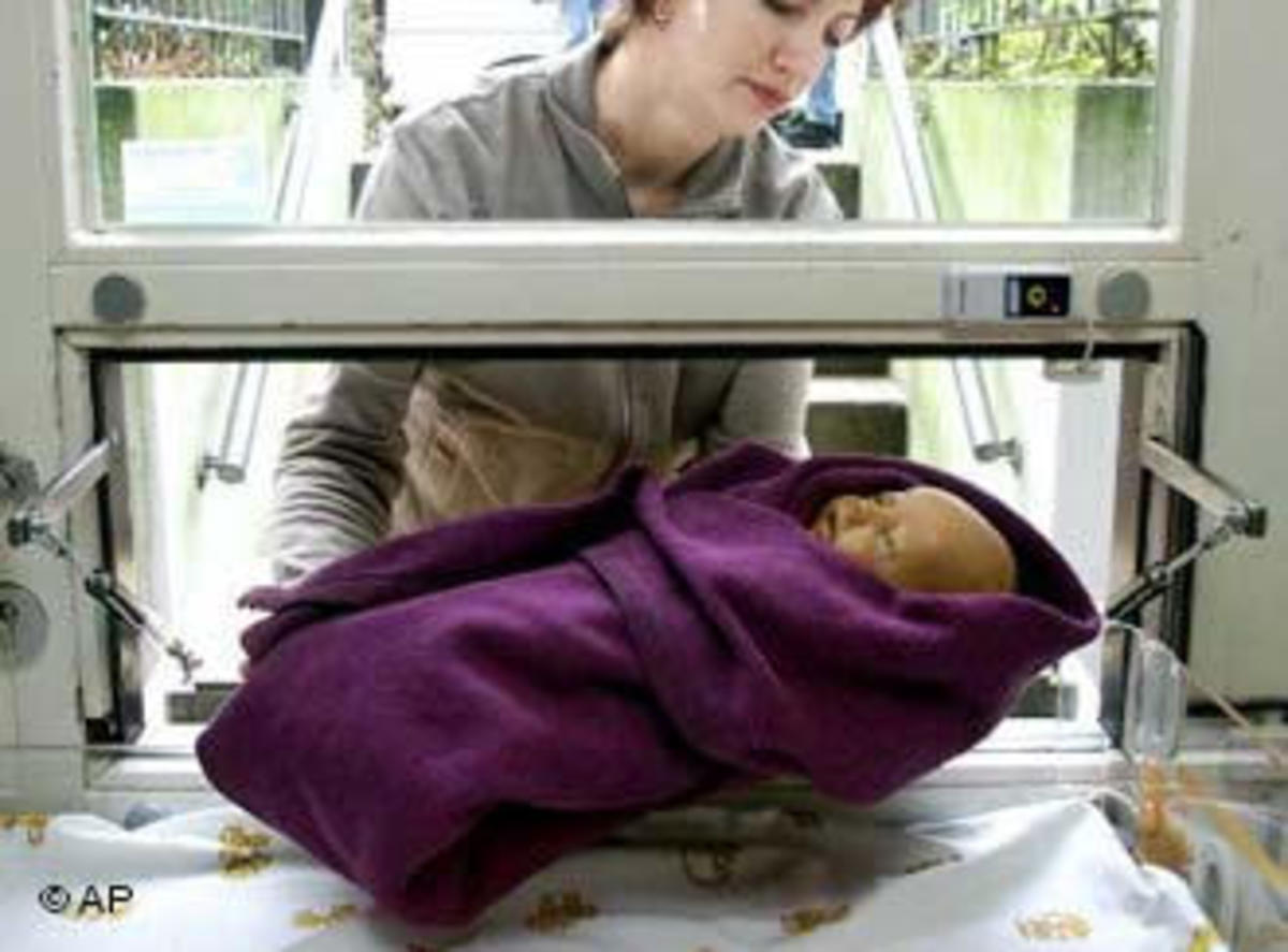 a baby hatch in Germany