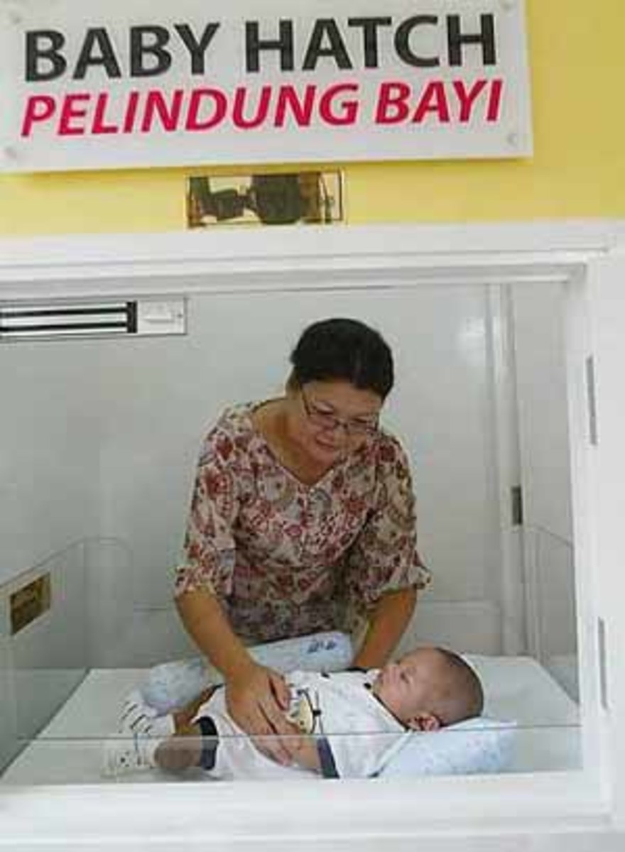 a baby hatch in Malaysia