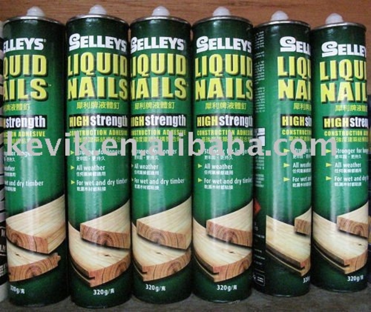 Liquid Nails - How - When - Where - What + Concrete