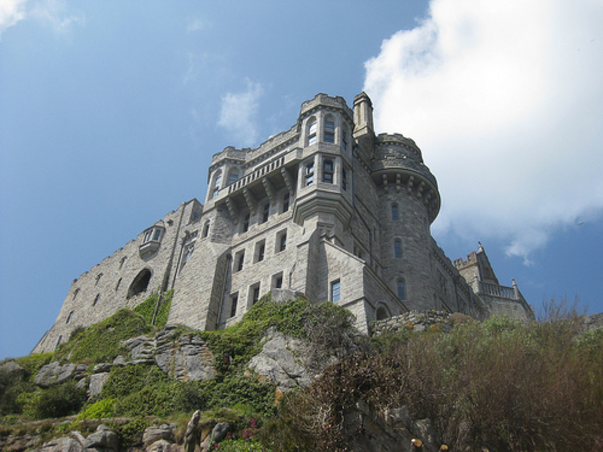 St Michaels Mount, Cornwall, England.