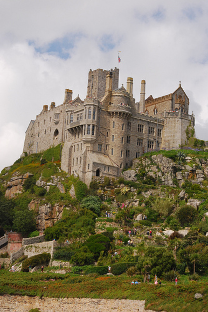 St Michaels Mount Castle, Cornwall, England