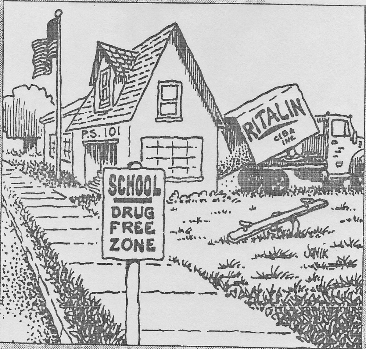 DRUG FREE ZONE IN PUBLIC SCHOOLS