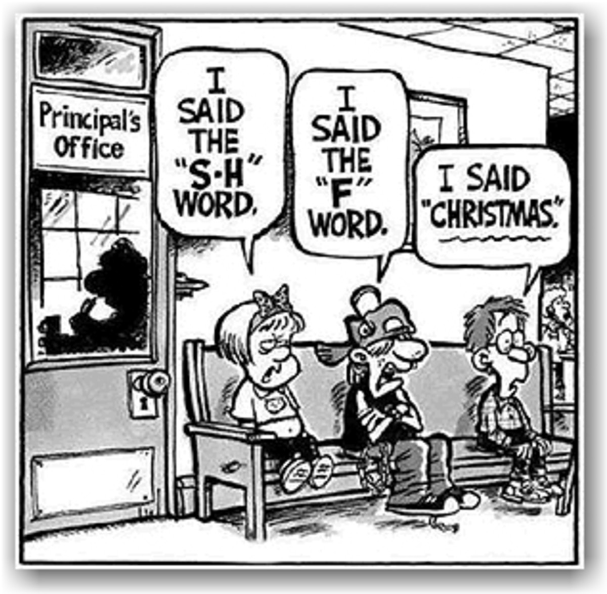 CHRISTMAS IS A CUSS WORD TO PROGRESSIVES