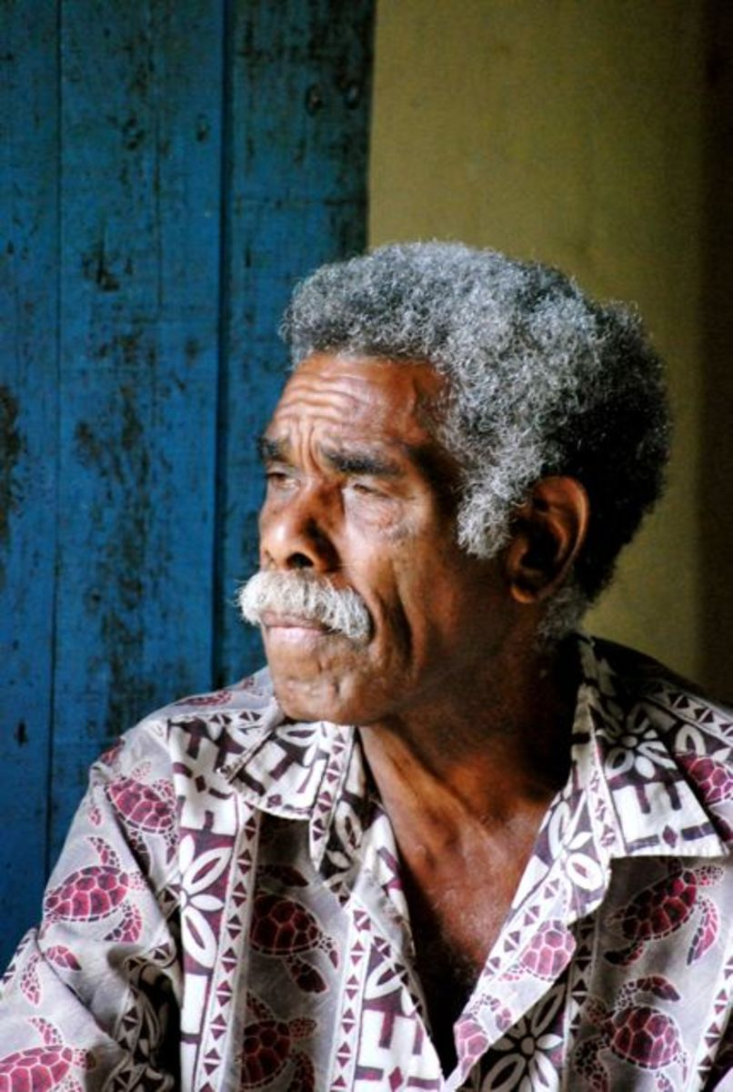 Fijian elder