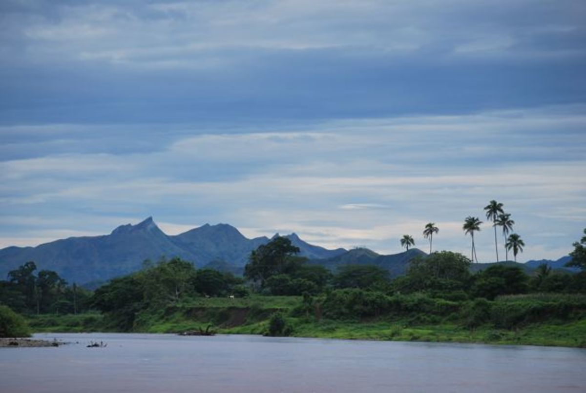 Along the Sigatoka River in Fiji