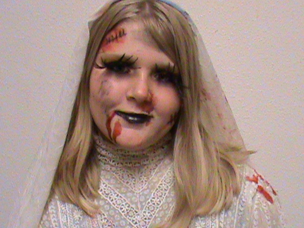 Zombie Bride for Halloween