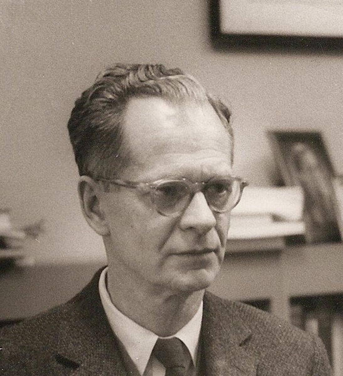 Skinner at Harvard c 1950. Image from Wikipedia