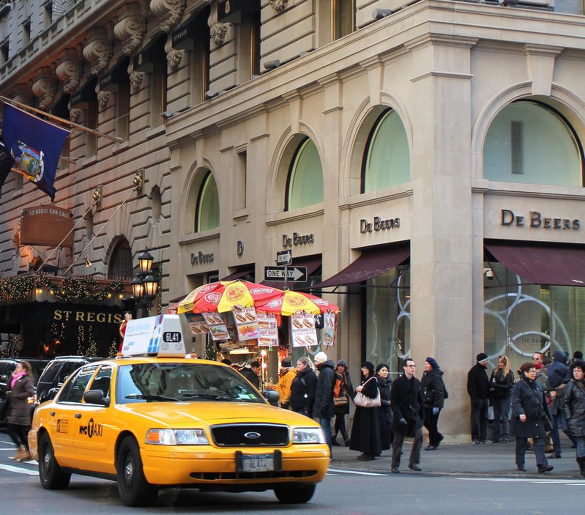 DeBeers, Madison Avenue, New York