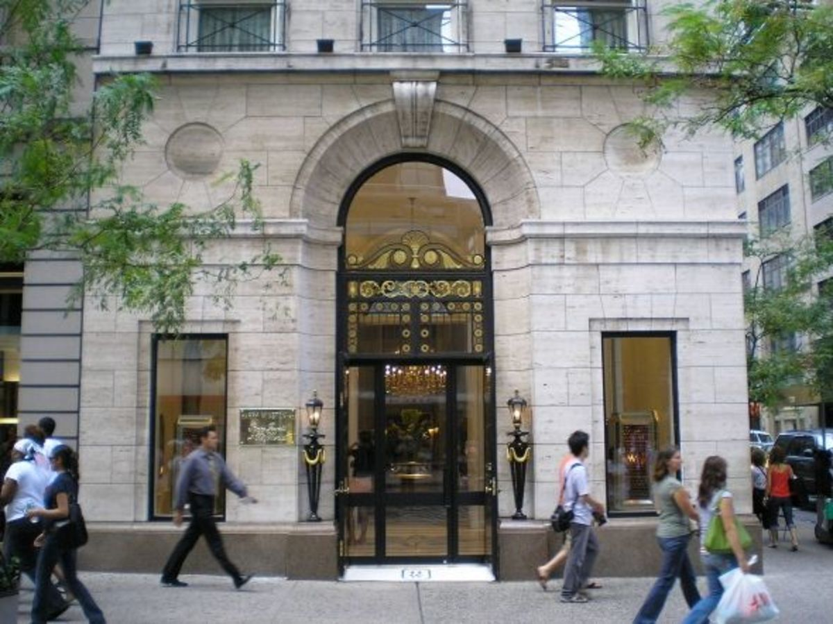 Harry Winston, Fifth Avenue, New York