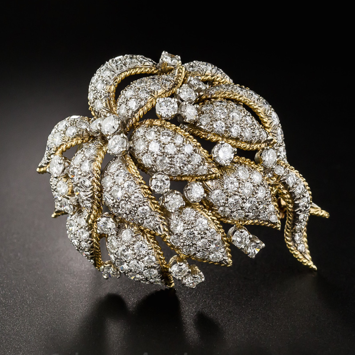 Diamond Corsage Brooch