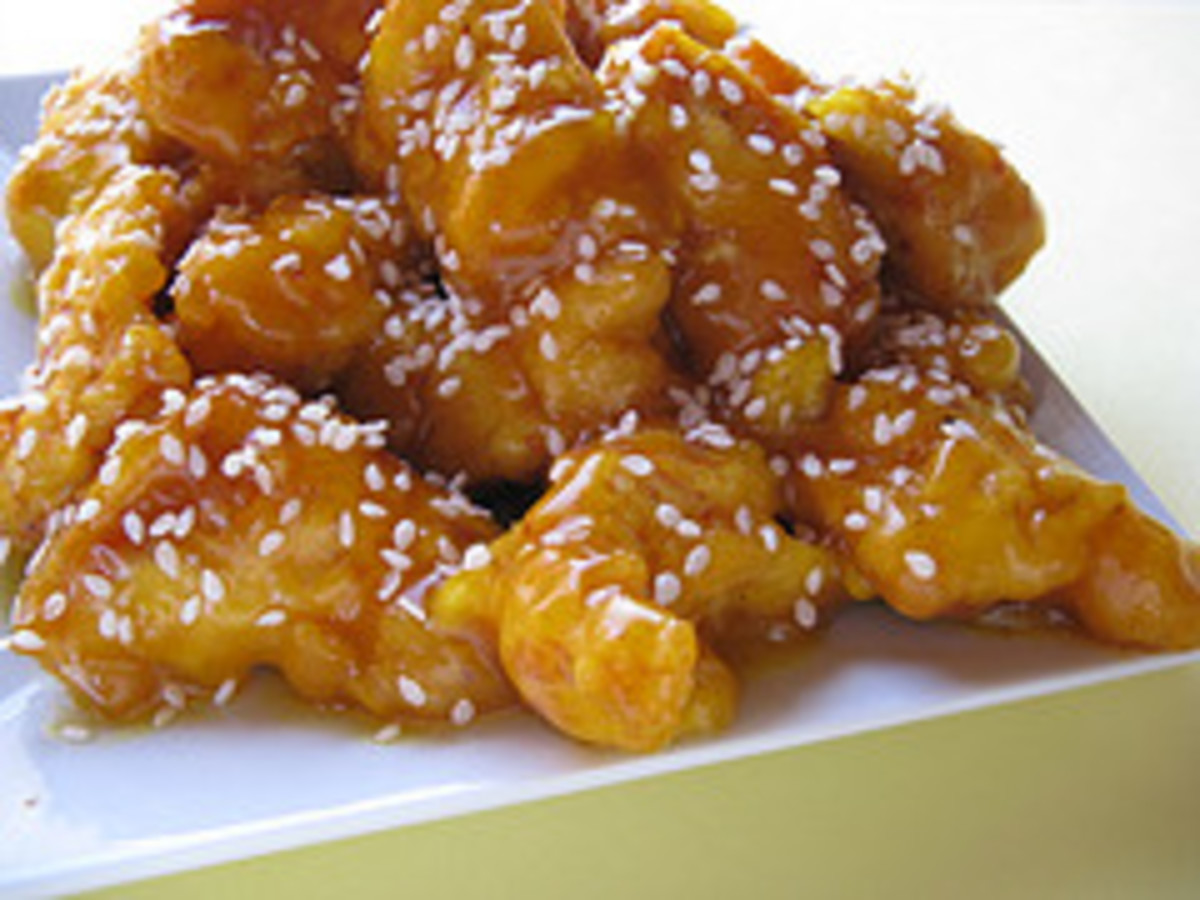 How to Make Crispy Battered Chicken in Honey Sauce