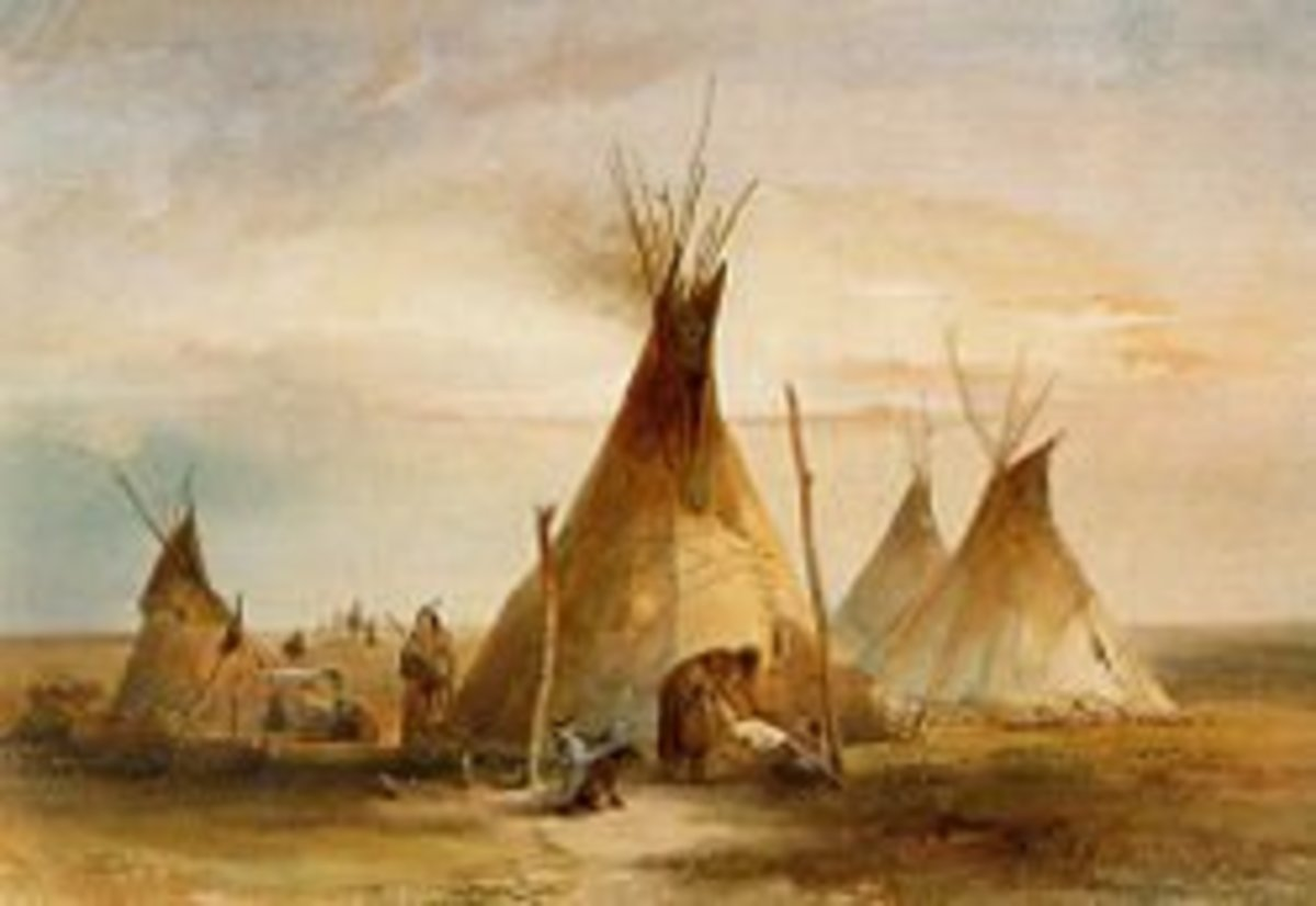 Tipis of the Great Plains