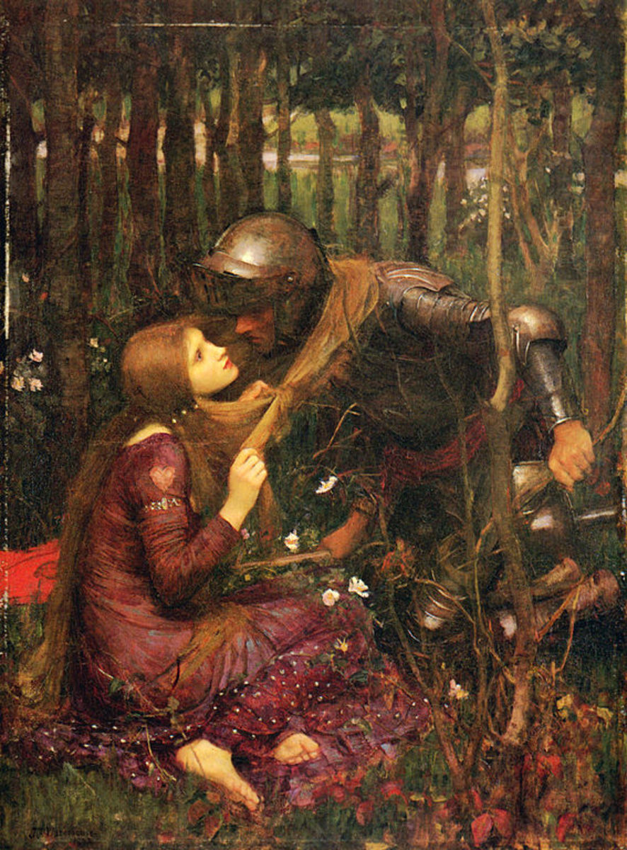 The Story Of La Belle Dame Sans Merci tells of a fairyland and the darker side of the lore.  [Public domain], via Wikimedia Commons