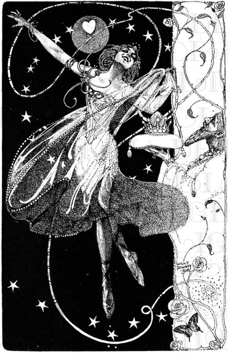 Fairy by Hungarian Illustrator Willy Pogany