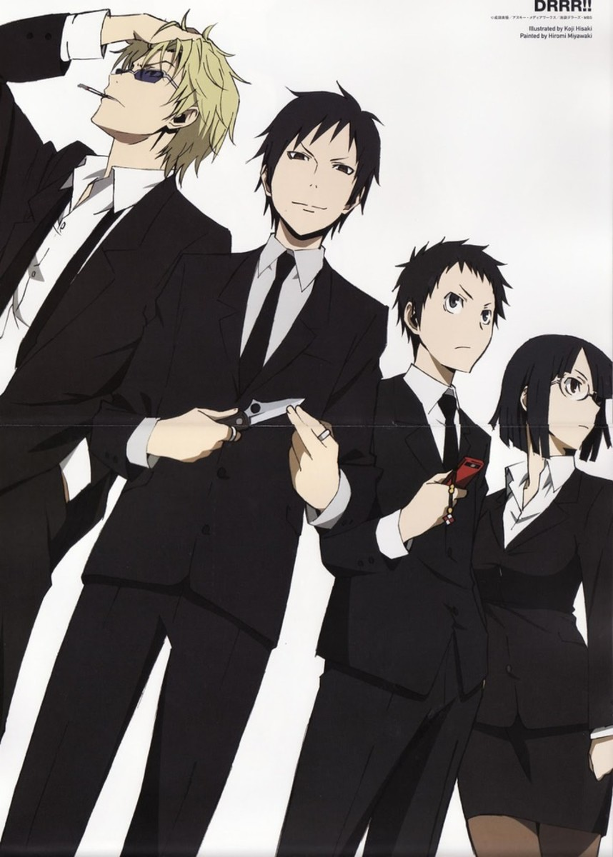 Durarara! Anime Opening & Ending Theme Songs With Lyrics